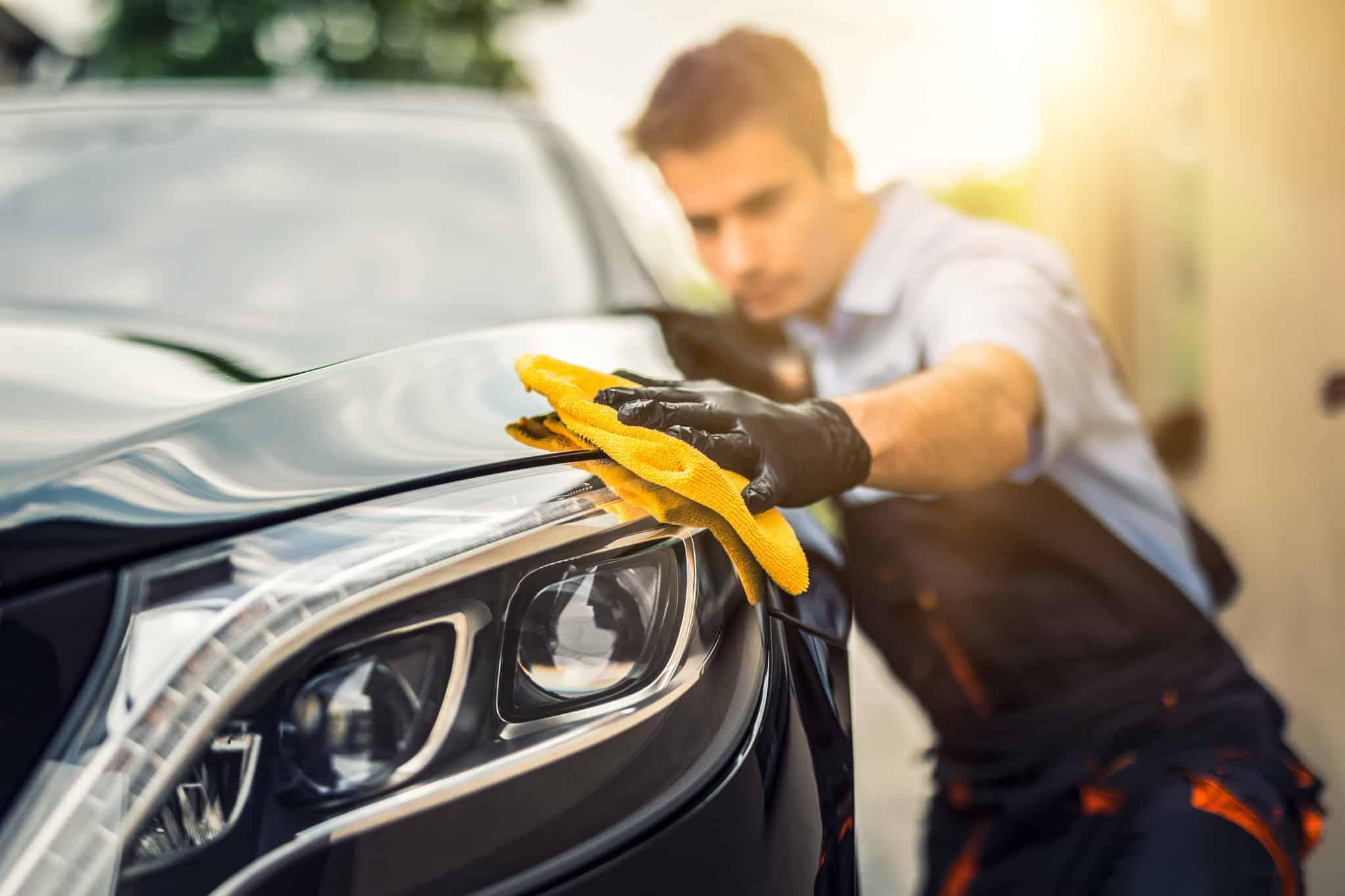 Čiščenje avtomobila