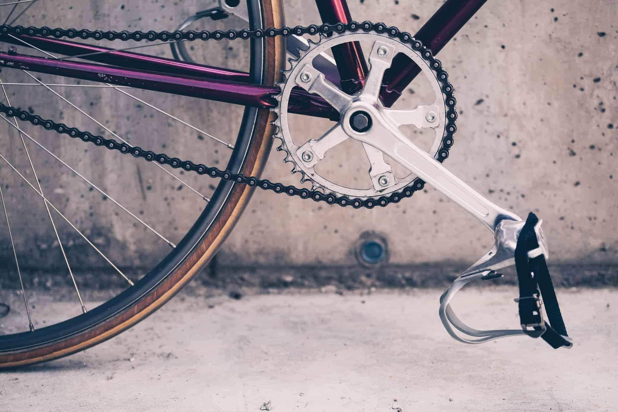 Kako očistiti verigo kolesa